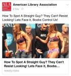 ALA Regains Control Of its Facebook Page After 3-Day Hack humor Web Publishing
