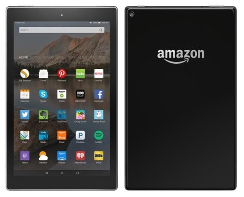 amazon fire ten inch tablet
