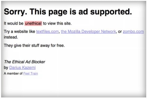 ethical ad blocker