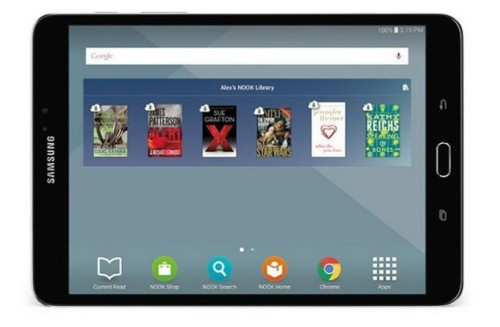 """B&N Launches a ReBranded Samsung Galaxy Tab S2 Nook 8"""" Tablet, Now Selling it for $400 Barnes & Noble e-Reading Hardware"""