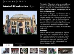 First Look: Orient Express History, an eBook App for the iPad e-Reading Software Reviews