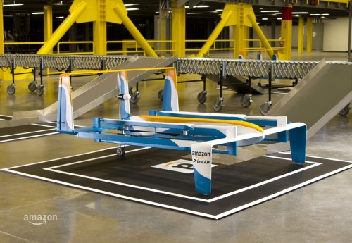 An Amazon Drone is No Longer Just a Temp Worker in Its Warehouse Amazon Tech