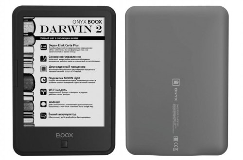 Onyx Boox Darwin 2 Android eReader - 300 PPI Screen, $197 e-Reading Hardware