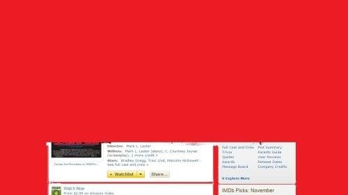 Amazon Has Blighted IMDb with Adverts Advertising Amazon