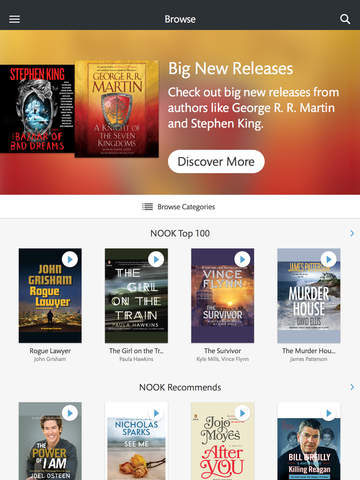 Buy books nook app ipad