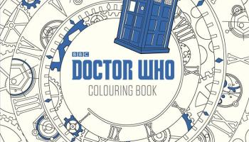 The Doctor Who Coloring Book Is Not Bigger On Inside Video