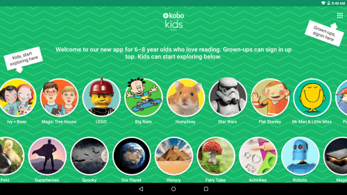 Kobo Launches a Kids Reading App for Android Kobo