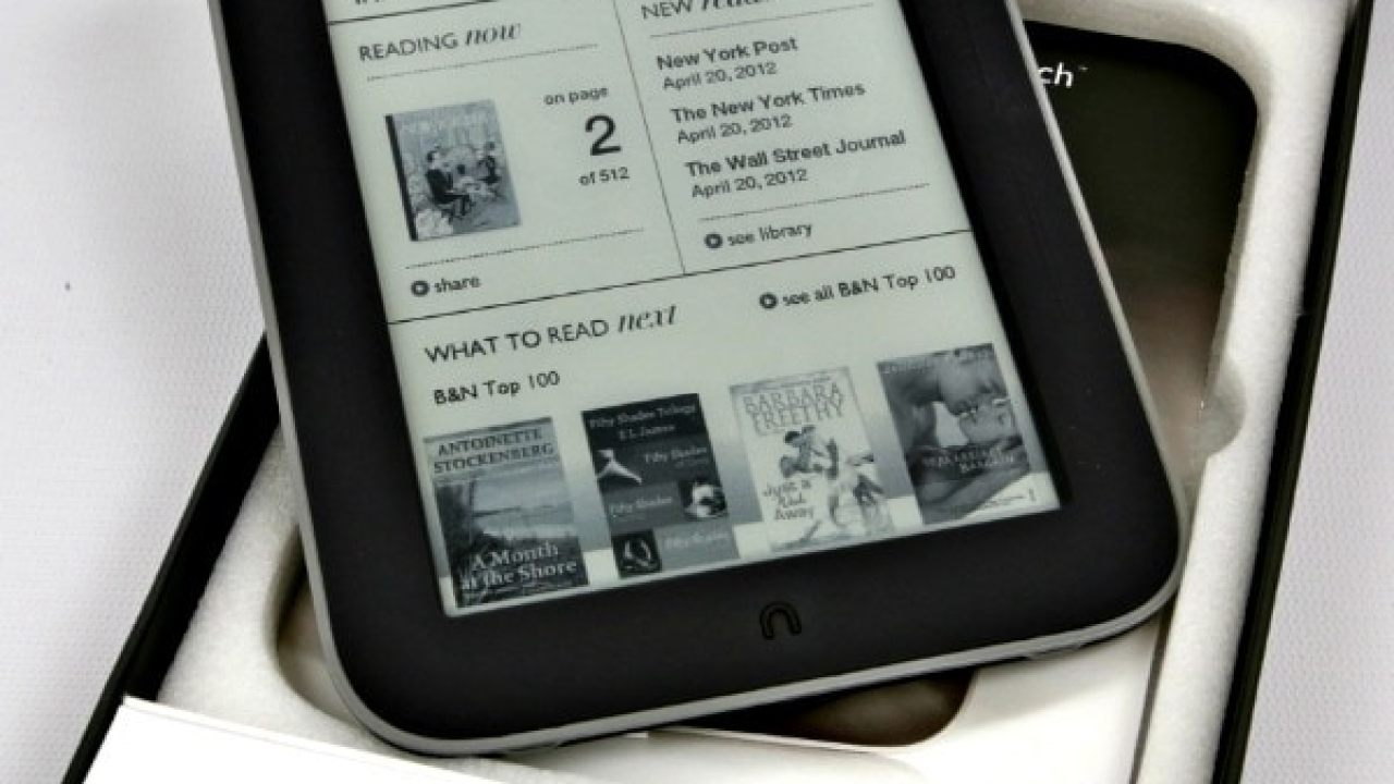 New Nook Hardware Could Become Worthless in the UK After May