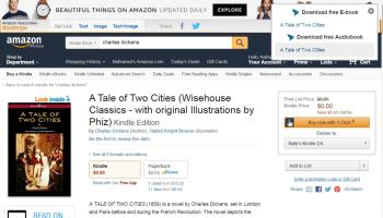 Chrome Plug-in Turns Amazon into a Pirate eBook Site | The Digital