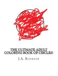 JA Konrath Releases Trio of Adult Coloring Books humor Paper