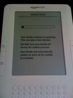 Amazon Still Really, Really, Really Wants You to Install That Kindle Security Update e-Reading Hardware e-Reading Software Kindle