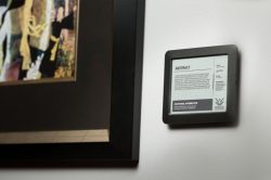 Visionect Debuts an ePaper Sign for Museum and Galleries E-ink Tech