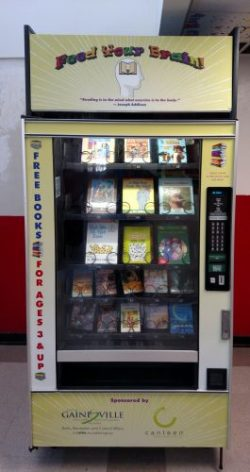 Gainesville, Florida Launches Book Vending Machine Project Libraries