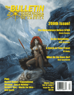 This 2013 edition of the Bulletin of the SFWA provoked an outcry from its female members.