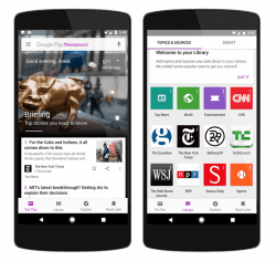 Google Play Newsstand Goes the Facebook Route, Adds Algorithmic Filters e-Reading Software Google