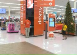 Walmart Wants You to Pick Up Orders at a Giant Orange Vending Machine Retail