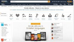 Amazon Adds eBooks in 5 Indian Languages to the Kindle Store eBookstore Kindle (platform)