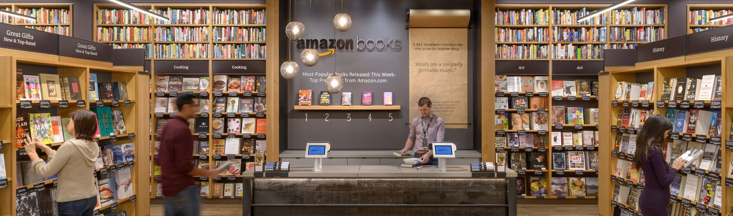 Amazon S 8th Bookstore Will Open In Paramus Nj The