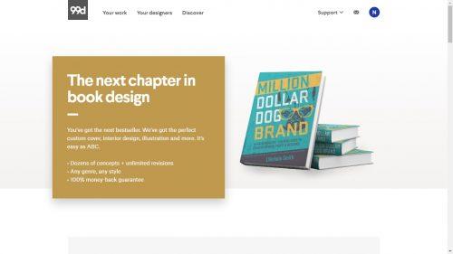 99Designs Now Makes eBooks content creation Self-Pub