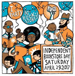April 29th is Independent Bookstore Day Bookstore