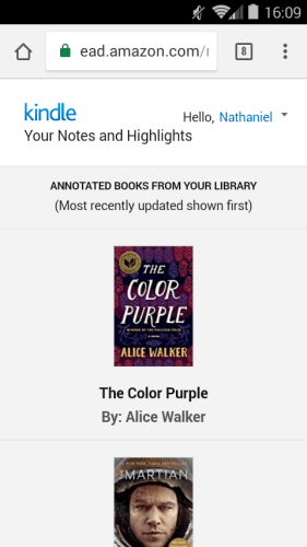 Amazon Gave Your Notes & Highlights a New Home on the Web Kindle (platform)