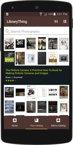 LibraryThing Launches an Android App e-Reading Software