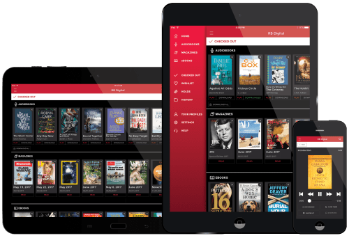 RBdigital Offers eBooks, Audiobooks, and Magazines in a Single App Library eBooks