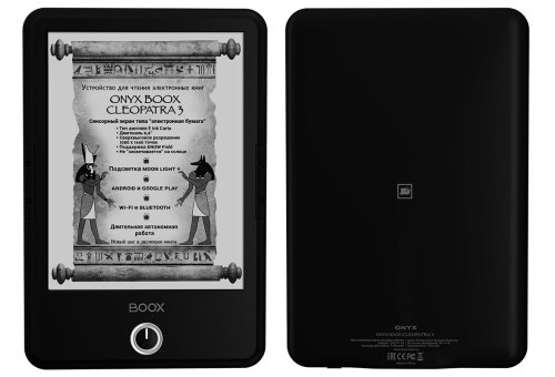 "Onyx Boox Cleopatra 3 Features a 6.8"" Screen w\ Color-Shifting Frontlight e-Reading Hardware"