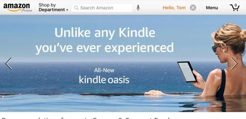"""Leaked! New Kindle Oasis has a 7"""" Screen, is Waterproof e-Reading Hardware Kindle"""