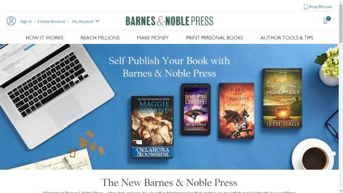 B&N Press Pays a 65% Royalty on All eBooks Priced Over $2.99 Barnes & Noble Self-Pub