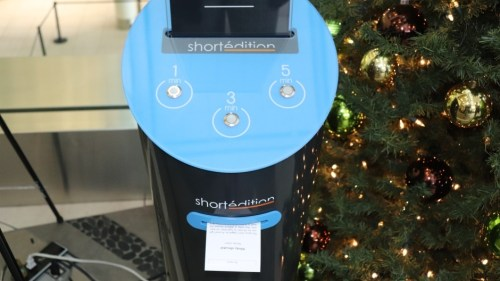 Edmonton Airport Wastes Money on a Short Story Printer DeBunking e-Reading Hardware