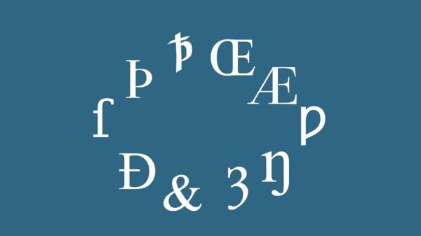The Ten Lost Letters of the English Alphabet (video) Language