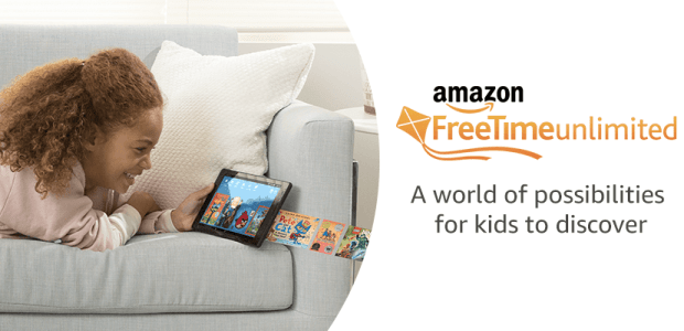Amazon Freetime Unlimited Launches on iOS e-Reading Software