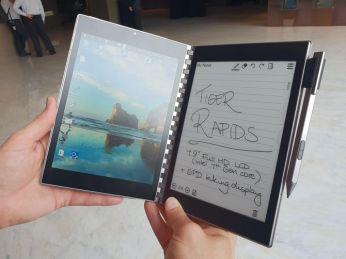 "Intel ""Tiger Rapids"" Concept Design Revives the Entourage Edge Idea e-Reading Hardware"