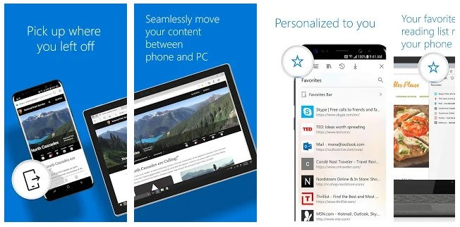 Microsoft Edge Browser for Android Now Claims to Support