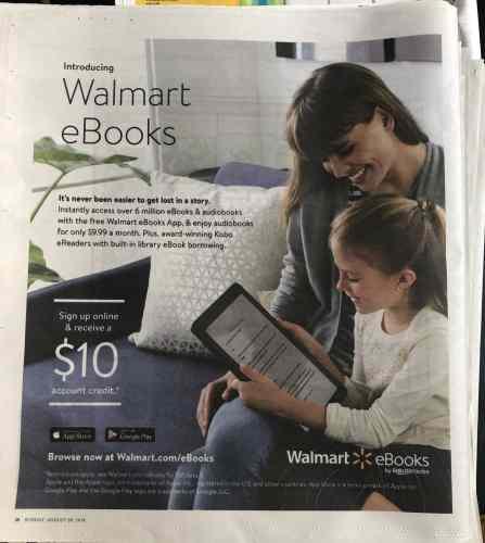 Did Walmart Just leak the New Kobo eReader Model? (Probably Not) e-Reading Hardware Rumors