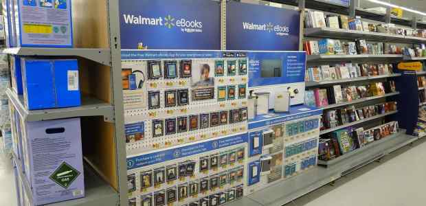 Walmart Doesn't Care About Selling eBooks Kobo Retail