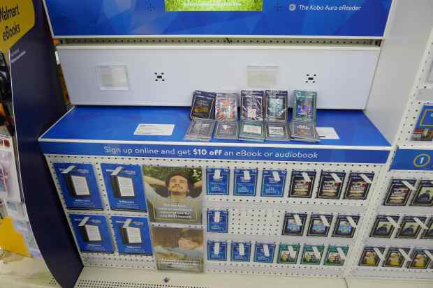 Walmart is Actually Selling eBooks in Stores, But Still Doesn't Give a Crap About Selling eBooks Kobo Retail