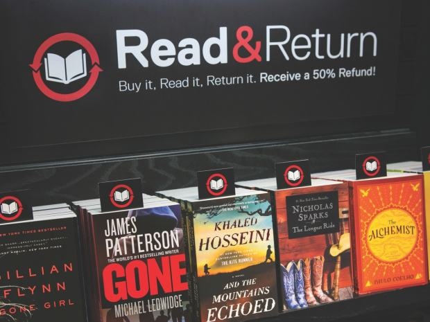 You Can Read and Return a Book to an Airport Bookstore Bookstore