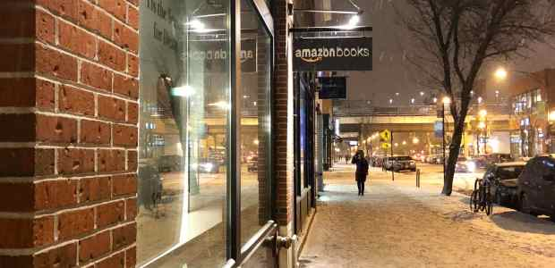 Amazon Has Thrown in the Towel on a Third Bookstore Amazon