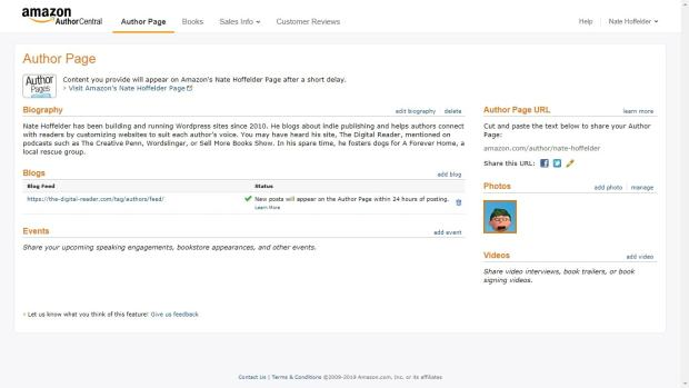 How to Set Up and Edit Your Amazon.com Author Profile Kindle (platform) Marketing Self-Pub