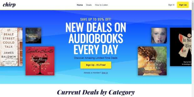 Bookbub Branches Out, Now Offers Audiobook Deals in Partnership with Findaway Audiobook Marketing