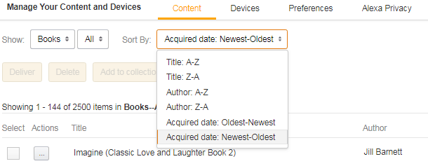 How to Delete eBooks from Your Kindle Account on Amazon com