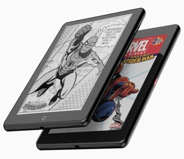 """Janus 9.7"""" Dual-Screen Tablet (LCD + E-ink) Goes up for Pre-Order Tomorrow for $399 e-Reading Hardware"""