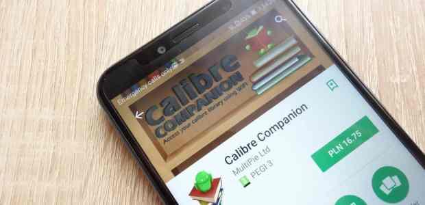 Calibre Companion Has Been Sold e-Reading Software