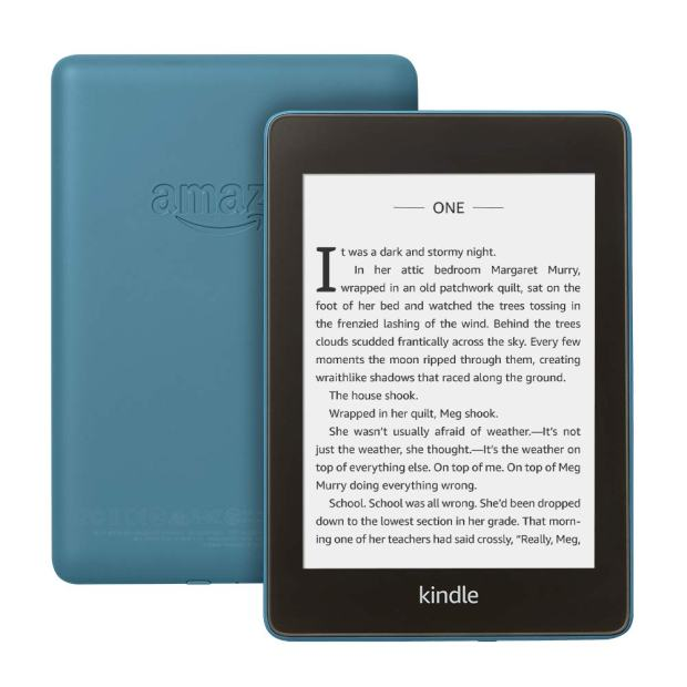 Kindle Paperwhite Now Available in Urinal Cake Blue e-Reading Hardware Kindle