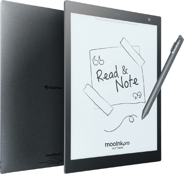 """MooInk Pro 10.3"""" eReader is a Sony DPT-CP1 Clone e-Reading Hardware"""