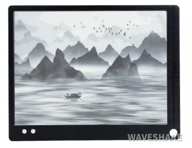 "Waveshare Now Sells a 10.3"" E-ink Monitor for $540 e-Reading Hardware"