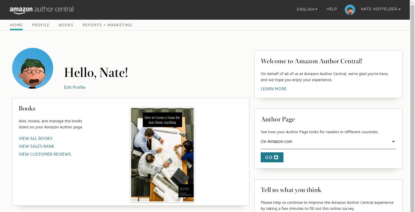 Amazon Launches New Author Portal