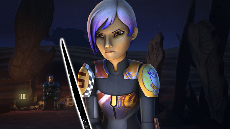 STAR WARS REBELS: TRIALS OF THE DARKSABER RECAP